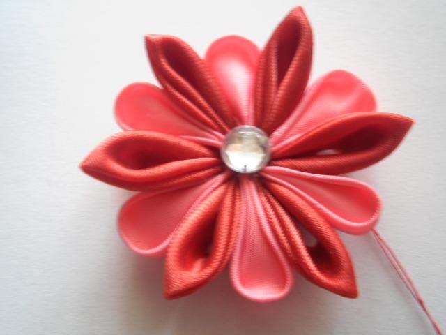 мк цветок канзаши.
