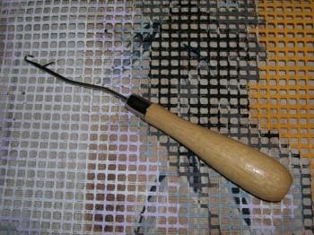 ковровая вышивка крючок