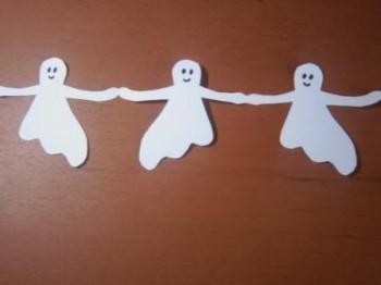 гирлянда на хеллоуин