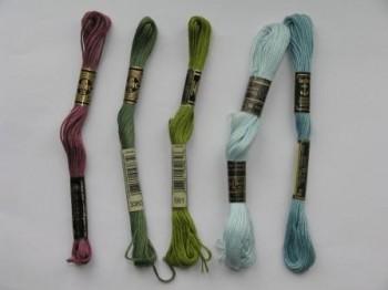 нитки для вышивания крестиком