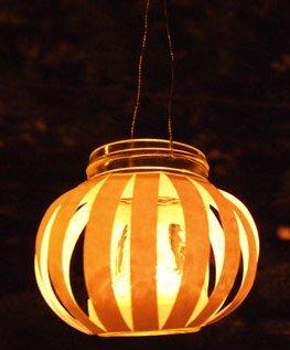 фонарь из банки