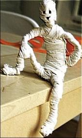 мумия своими руками