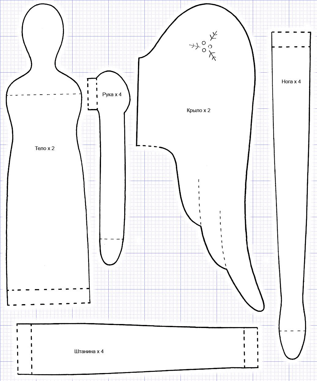 Как сделать куклу своими руками тильда