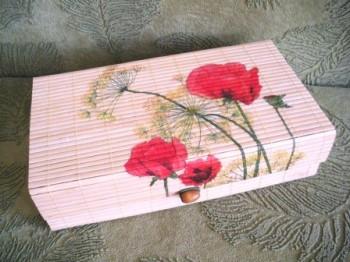 Бамбуковая шкатулка