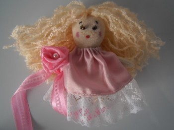текстильная кукла своими руками