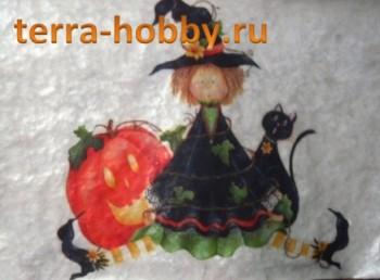 салфетка Хеллоуин