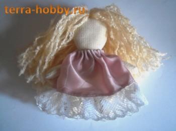 текстильная кукла Эсилия