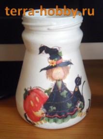 ваза Хеллоуин