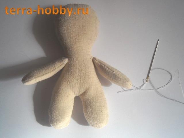 Простая кукла шить своими руками