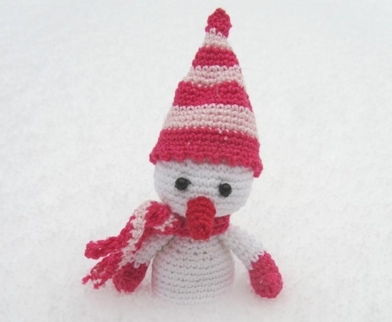 колпачок снеговика