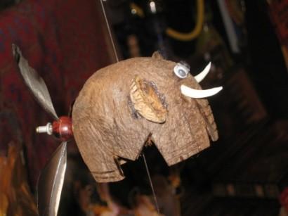 необычный материал для поделок кокос