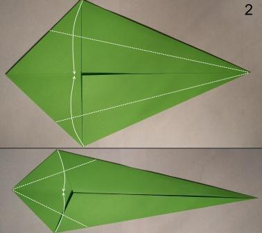 zmeja iz bumagi origami2