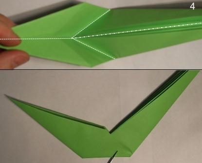 zmeja iz bumagi origami 4