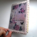 декупаж паспорта