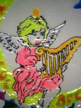 роспись витражными красками