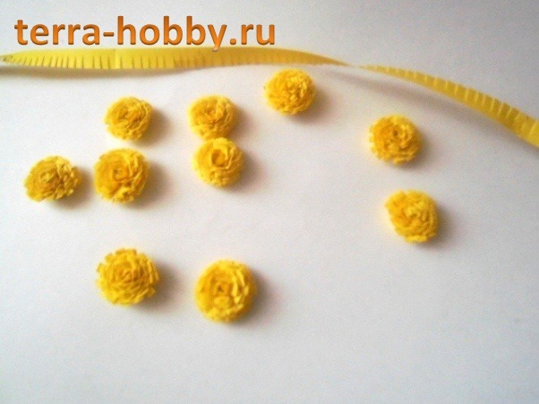 Мимоза цветок как сделать