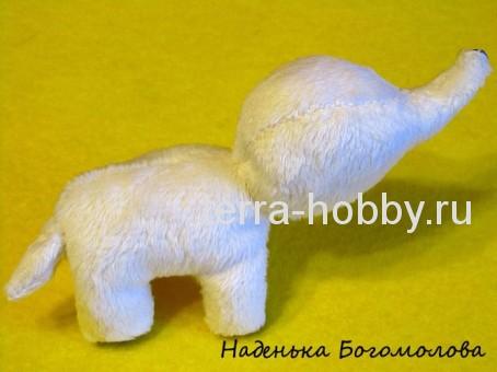 как сшить слона из ткани