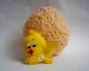 Миниатюра к статье Пасхальное яйцо из ниток