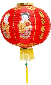 декор китайсого фонарика