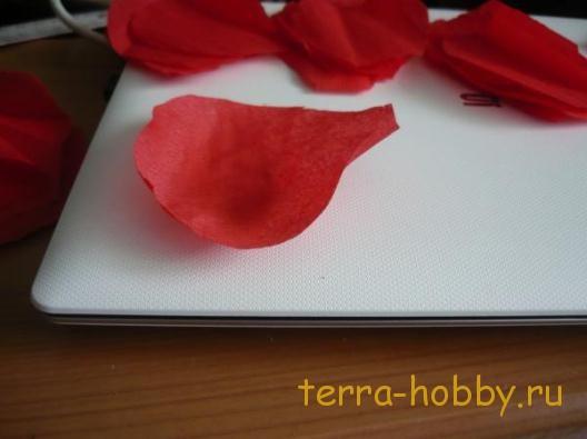 цветок мак из конфеты своими руками