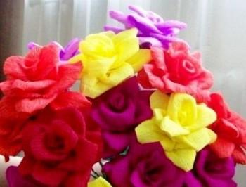 Миниатюра к статье Красивые цветы из бумаги своими руками для начинающих