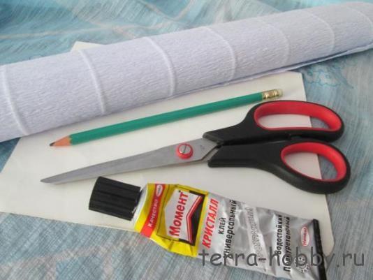 Материалы для снежинки из бумаги
