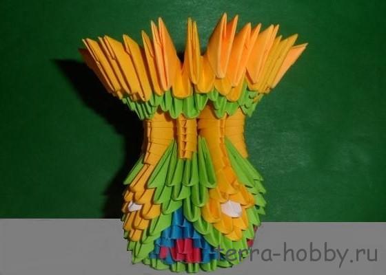 ваза модульное оригами10