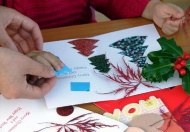 как сделать оригинальную новогоднюю открытку