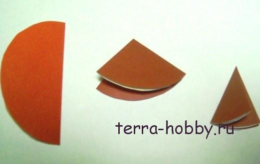 объемная гирлянда из бумаги2