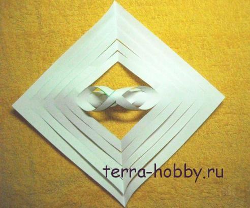 снежинка из бумаги6