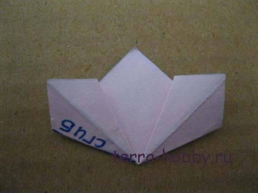 цветы из бумаги оригами
