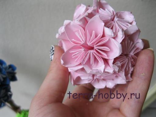 красивые цветы из бумаги своими руками