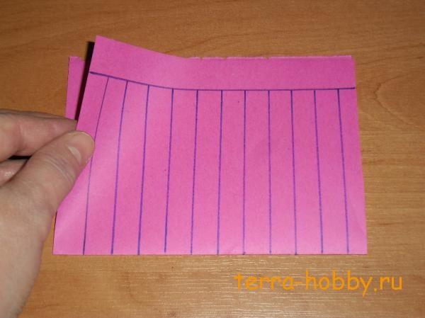 фонарик из бумаги своими руками4