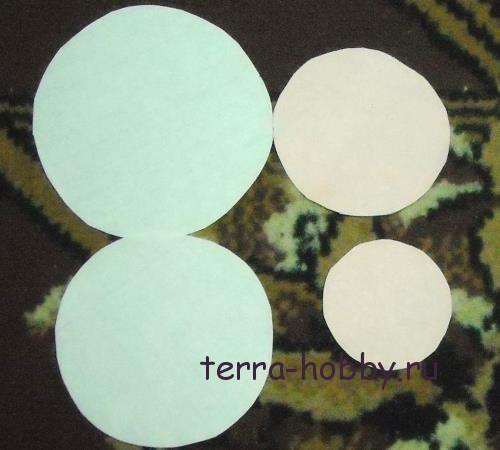 хризантема из бумаги1
