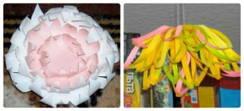Миниатюра к статье Декоративные хризантемы из бумаги