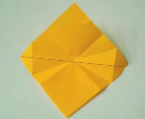 цветочный шар из бумаги1