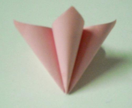 цветочный шар из бумаги10