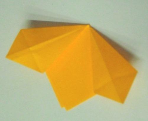 цветочный шар из бумаги4