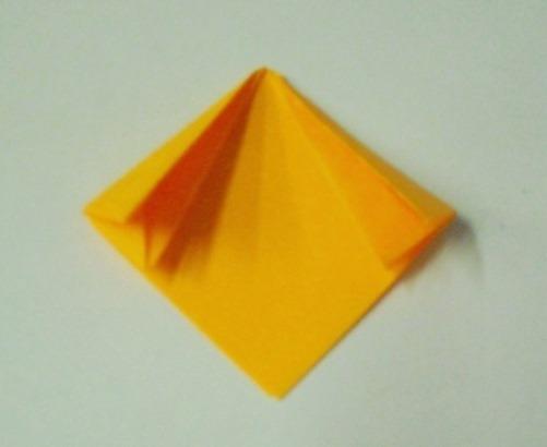 цветочный шар из бумаги6