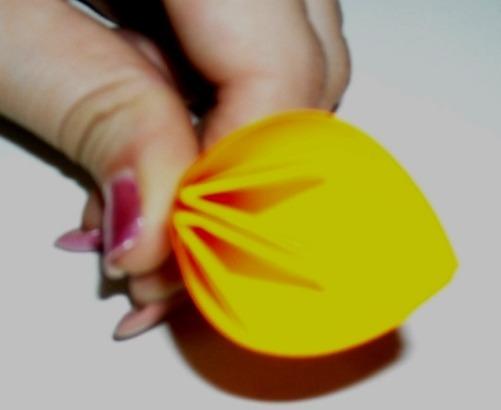 цветочный шар из бумаги7