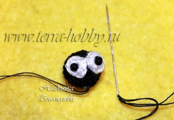 вязаный жук амигуруми3