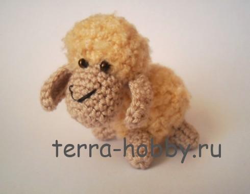 как связать овечку амигуруми