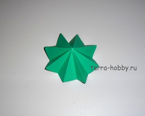 заготовки для простой елки из бумаги