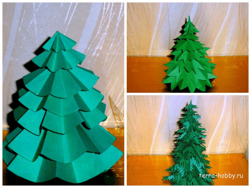 Как сделать елку из картона своими руками 79