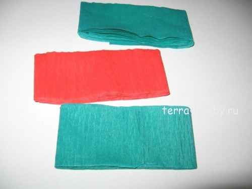 полоски бумаги для топиария