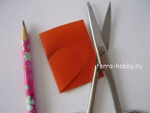 выкройка из бумаги сердца