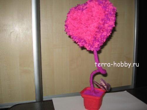 топиарий сердце своими руками