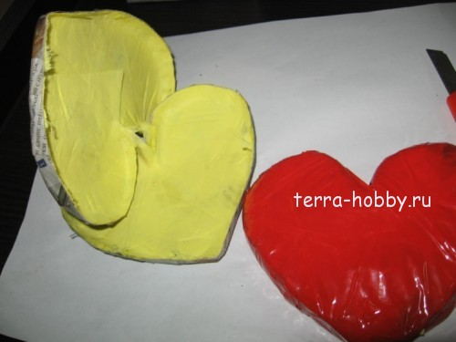 делаем форму сердца