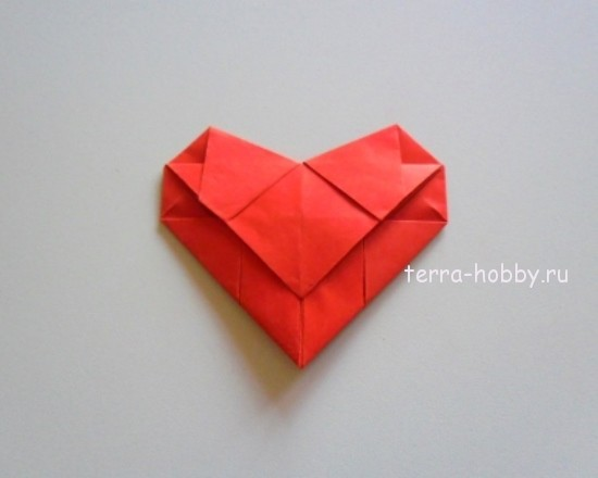 Как из сделать сердечко