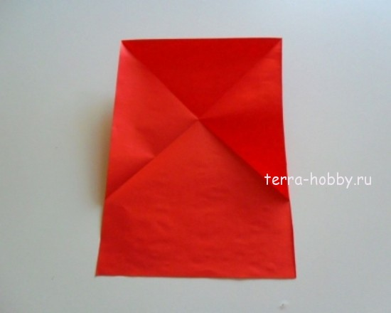 три треугольника из листа бумаги